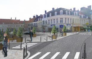 Photo du projet Place Gambetta, Bergues