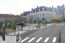 Place Gambetta, Bergues